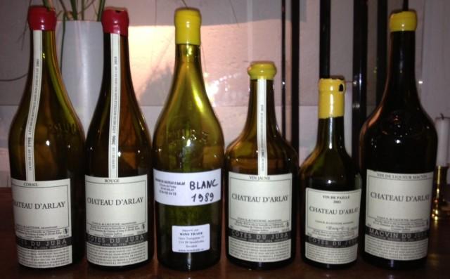 Château d'Arlay 20131031 flaskor